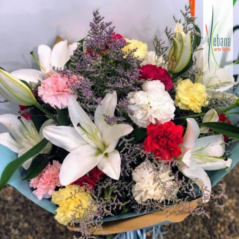 Ramo de flor variada funaral