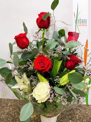 Ramo  de flor variada funeral